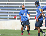 08 September 2007: Ronaldinho. The Brazil Men's National Team practiced at Toyota Park in Bridgeview, Illinois.