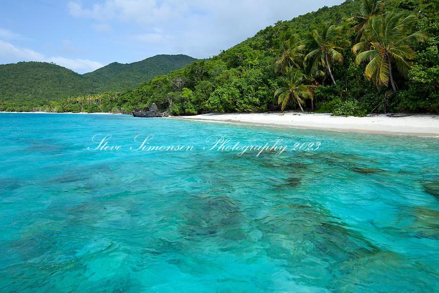 Little Cinnamon Bay<br /> Virgin Islands National Park<br /> St. John<br /> U.S. Virgin Islands
