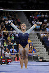 21 APR 2012:  Sam Peszek of UCLA performs on the uneven bars during the Division I Women's Gymnastics Championship held at the Gwinnett Center Arena in Duluth, GA. Joshua Duplechian/NCAA Photos