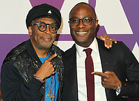 04 February 2019 - Los Angeles, California - Spike Lee, Barry Jenkins. 91st Oscars Nominees Luncheon held at the Beverly Hilton in Beverly Hills. Photo Credit: AdMedia