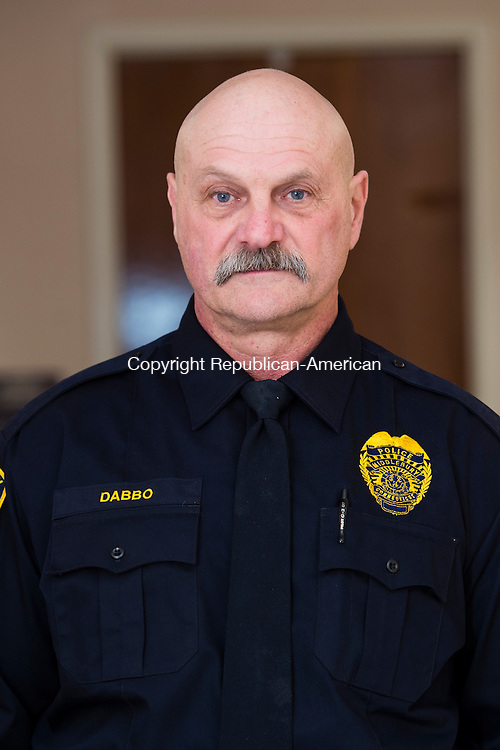 MIDDLEBURY, CT- 11 January 2015-011116EC04-    Fran Dabbo is the new Middlebury Police Chief. James Viadero is leaving for a chief's job in Newtown. Erin Covey Republican-American