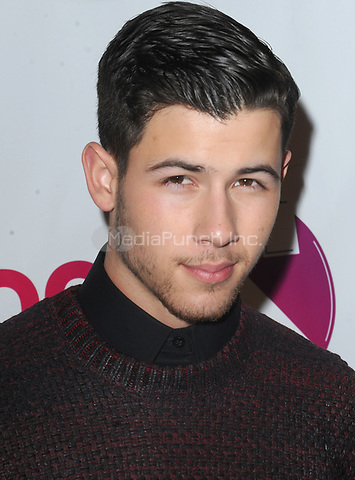 NEW YORK, NY - DECEMBER 12: Nick Jonas attends z100s Jingle Ball at Madison Square Garden on December 12, 2014 in New York City<br /> <br /> <br /> People:  Nick Jonas<br /> <br /> Transmission Ref:  MNC1<br /> <br /> Hoo-Me.com / MediaPunch