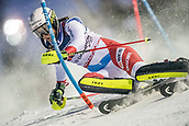8th February 2019, Are, Sweden; Alpine skiing: Combination, ladies: Wendy Holdener from Switzerland on the slalom course.