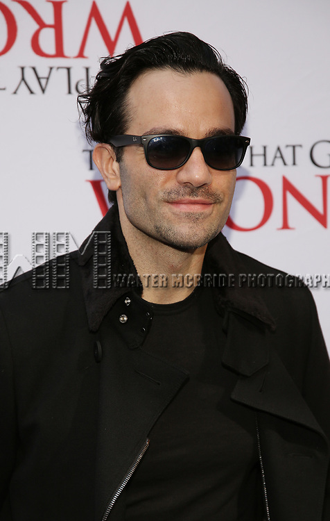 Ramin Karimloo attends 'The Play That Goes Wrong' Broadway Opening Night at the Lyceum Theatre on April 2, 2017 in New York City.