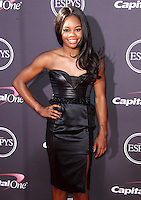 LOS ANGELES, CA - JULY 17: Gabrielle Douglas attends the ESPY Awards 2013 held at Nokia Theatre L.A. Live on July 17, 2013 in Los Angeles, California. (Photo by Celebrity Monitor)