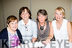 We meet again<br /> --------------------<br /> L-R Margaret O'Shea, Catherine McElligott, Kackie O'Keeffe and Elsie O'Dowd at the Oakpark, Tralee residents reunion, in the Meadowlands hotel, Tralee last Saturday night.