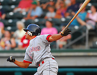15 Aug 2007:  Fidel Hernandez of the Lakewood BlueClaws, Class A affiliate of the Philadelphia Phillies, in a game against the Greenville Drive at West End Field in Greenville, S.C. Photo by:  Tom Priddy/Four Seam Images