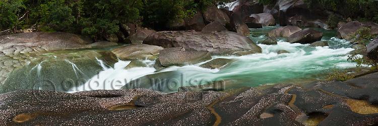 Devil's Pool at Babinda Boulders.  Babinda, Queensland, Australia