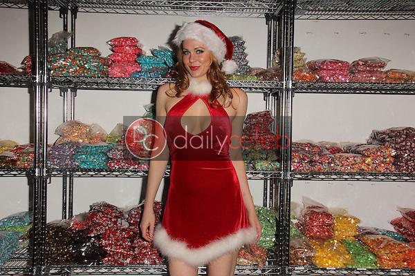 Maitland Ward<br /> at the Art Hearts Fashion Launch at Sweet! Candy Shop, Hollywood, CA 12-18-14<br /> David Edwards/DailyCeleb.com 818-249-4998