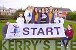 Preparing for the fourth annual Run Ballybunion Marathon taking place at the end of March were: Padraig Rowan, Roisin Cumins, Jennifer Brosnan, Meabh Ferriter, Ísla O'Connor, Joan O'Connor, Muireann Beasley, Sarah Long, Anne Cummins, John Hannan and Bríannagh O'Connor.