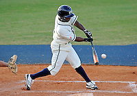 Florida International University outfielder Roche Woodard (16) plays against the University of North Florida. FIU won the game 6-4 on March 13, 2012 at Miami, Florida.