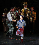 Zachary Unger & Company during the Curtain Call and check presentation to The Lil' Bravest Charity Inc. at 'Chaplin' at the Barrymore Theatre in New York City on 11/09/2012
