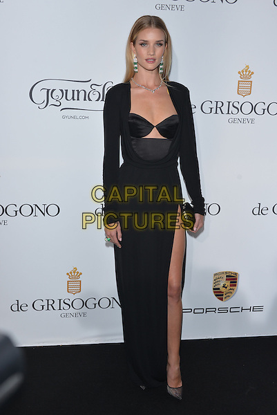CAP D'ANTIBES, FRANCE - MAY 20:  Rosie Huntington-Whiteley attends the De Grisogono dinner party, in collaboration with Gyunel during Cannes film festival at Hotel du Cap-Eden-Roc on May 20, 2014 in Cap d'Antibes, France.<br /> CAP/PL<br /> &copy;Phil Loftus/Capital Pictures