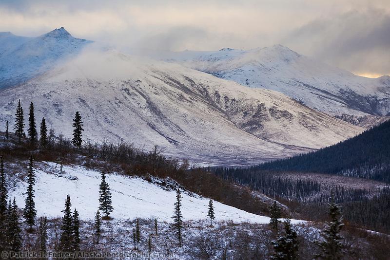 Winter scenic, Brooks Range, Alaska