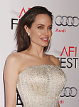 HOLLYWOOD, CA - NOVEMBER 05: Actress/director Angelina Jolie arrives at the AFI FEST 2015 presented by Audi Opening Night Gala Premiere of Universal Pictures' 'By The Sea' at TCL Chinese 6 Theatres on November 5, 2015 in Hollywood, California.