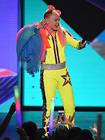 "LOS ANGELES - MARCH 23: JoJo Siwa appears on the Nickelodeon ""Kids' Choice Awards 2019"" at the Galen Center on March 23, 2019 in Los Angeles, California. (Photo by Frank Micelotta/PictureGroup)"