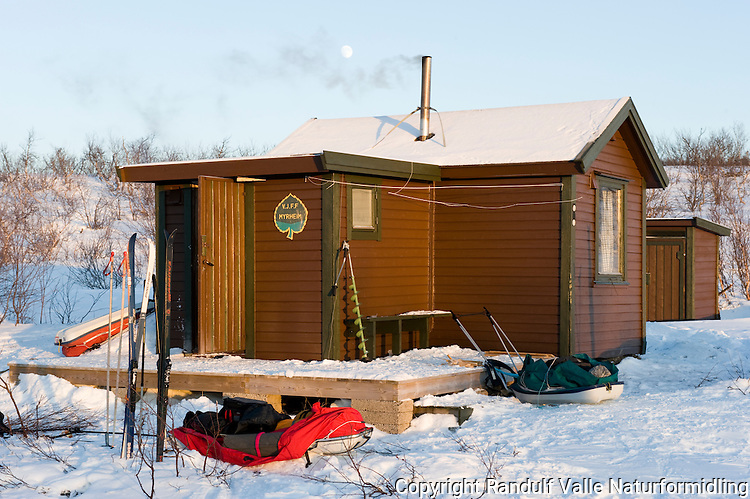 Hytta Myrheim ---- The cabin Myrheim