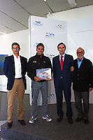 RC44 Valencia cup official presentation. Thursday April 22, 2010. Veles e Vents Building. La Marina Real Juan Carlos I, Valencia, Spain