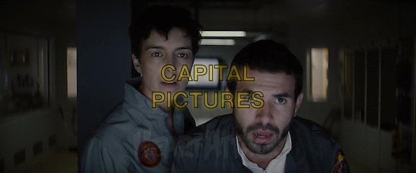 Olivia Williams, Tom Cullen<br /> in The Last Days on Mars (2013) <br /> *Filmstill - Editorial Use Only*<br /> CAP/FB<br /> Image supplied by Capital Pictures
