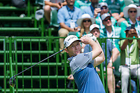 Brandon Grace (RSA) on the 1st tee during the first round at the Nedbank Golf Challenge hosted by Gary Player,  Gary Player country Club, Sun City, Rustenburg, South Africa. 14/11/2019 <br /> Picture: Golffile | Tyrone Winfield<br /> <br /> <br /> All photo usage must carry mandatory copyright credit (© Golffile | Tyrone Winfield)