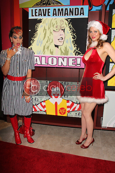 Sham Ibrahim, Maitland Ward<br /> at the Art Hearts Fashion Launch at Sweet! Candy Shop, Hollywood, CA 12-18-14<br /> David Edwards/DailyCeleb.com 818-249-4998