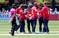 Essex players celebrate taking the wicket of Harry Finch during Sussex Sharks vs Essex Eagles, Royal London One-Day Cup Cricket at The Saffrons on 3rd June 2018