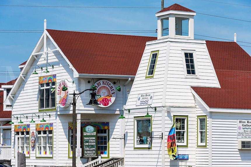 Charming shops, Bethany Beach, Delaware, USA
