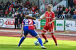 19.08.2017, Allg&auml;ustadion / Allgaeustadion, Wangen, GER, FSP, Bayern M&uuml;nchen vs FC Basel, im Bild Fabinne Bangerter (Basel #27), Verena Fai&szlig;t / Faisst (Muenchen #22)<br /> <br /> Foto &copy; nordphoto / Hafner