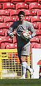 Chris Day of Stevenage. Swindon Town v Stevenage - npower League 1 -  County Ground, Swindon - 20th April, 2013. © Kevin Coleman 2013..