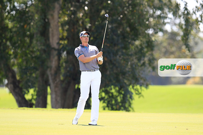 Henrik Stenson (SWE) during the 2nd round at the WGC Cadillac Championship, Blue Monster, Trump National Doral, Doral, Florida, USA<br /> Picture: Fran Caffrey / Golffile