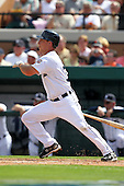 Detroit Tigers Andy Dirks #72 during a exhibition game vs. the Florida Southern Mocs at Joker Marchant Stadium in Lakeland, Florida;  February 25, 2011.  Detroit defeated Florida Southern 17-5.  Photo By Mike Janes/Four Seam Images