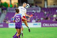 Orlando, FL - Saturday October 05, 2019: Ashley Hatch , Orlando Pride vs Washington Spirit Stars at Exploria Stadium.