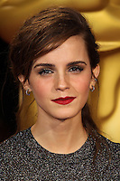 HOLLYWOOD, LOS ANGELES, CA, USA - MARCH 02: Emma Watson at the 86th Annual Academy Awards held at Dolby Theatre on March 2, 2014 in Hollywood, Los Angeles, California, United States. (Photo by Xavier Collin/Celebrity Monitor)
