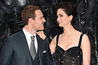 Michael Fassbender &amp; Katherine Waterston at the world premiere for &quot;Alien: Covenant&quot; at the Odeon Leicester Square, London, UK. <br /> 04 May  2017<br /> Picture: Steve Vas/Featureflash/SilverHub 0208 004 5359 sales@silverhubmedia.com