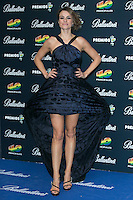 Monica Martinez attend the 40 Principales Awards at Barclaycard Center in Madrid, Spain. December 12, 2014. (ALTERPHOTOS/Carlos Dafonte) /NortePhoto