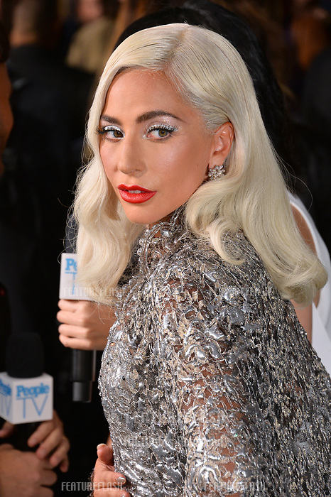 """LOS ANGELES, CA. September 24, 2018: Lady Gaga at the Los Angeles premiere for """"A Star Is Born"""" at the Shrine Auditorium.<br /> Picture: Paul Smith/Featureflash"""