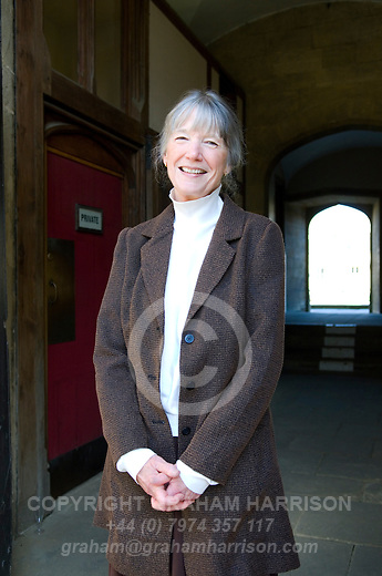 Anne Tyler at Christ Church during the Sunday Times Oxford Literary Festival, UK, 24 March - 1 April 2012. ..PHOTO COPYRIGHT GRAHAM HARRISON .graham@grahamharrison.com.+44 (0) 7974 357 117.Moral rights asserted.