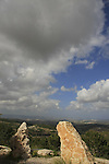 Israel, Lower Galilee, a view from Moreshet junction