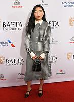 04 January 2020 - Beverly Hills, California - Awkwafina. The 2020 BAFTA Los Angeles Tea Party held at Four Seasons Los Angeles . Photo Credit: Birdie Thompson/AdMedia