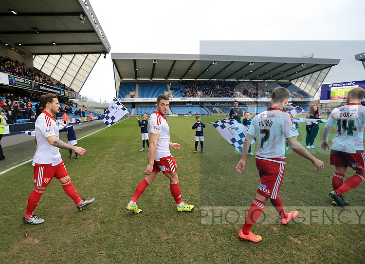 Sheffield United's Florent Cuvelier walks out during the League One match at The Den.  Photo credit should read: David Klein/Sportimage