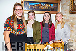 Ciara Cusack, Jade Pope, Orla Fraher and Eloise Finan enjoying the night out in Bella Bia on Saturday night.