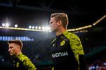 09.08.2019, Merkur Spiel-Arena, Düsseldorf, GER, DFB Pokal, 1. Hauptrunde, KFC Uerdingen vs Borussia Dortmund , DFB REGULATIONS PROHIBIT ANY USE OF PHOTOGRAPHS AS IMAGE SEQUENCES AND/OR QUASI-VIDEO<br /> <br /> im Bild | picture shows:<br /> Lukasz Piszczek (Borussia Dortmund #26) auf dem Weg zum warmmachen, <br /> <br /> Foto © nordphoto / Rauch