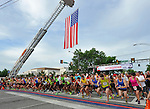 34th Annual Cotton Row Run in downtown Huntsville Memorial Day May 27, 2013. Start of the 10K race. (Bob Gathany/bgathany@al.com)
