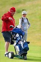Emma Fenlon (Grange) during the 2nd round of the Irish Women's Open Stroke Play Championship, Enniscrone Golf Club, Enniscrone, Co. Sligo. Ireland. 16/06/2018.<br /> Picture: Golffile | Fran Caffrey<br /> <br /> <br /> All photo usage must carry mandatory  copyright credit (© Golffile | Fran Caffrey)