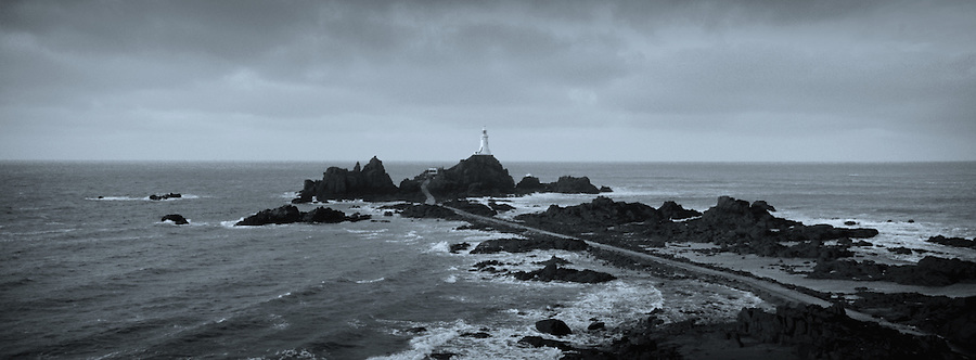 La Corbière Lighthouse, Jersey, Channel Islands.