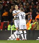 Tottenham's Erik Lamela celebrates scoring his sides second goal<br /> <br /> UEFA Europa League - Tottenham Hotspur v Monaco - White Hart Lane - England -10th December 2015 - Picture David Klein/Sportimage