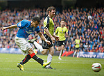 Arnold Peralta scores for Rangers