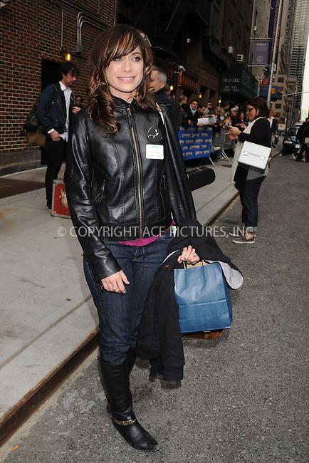 WWW.ACEPIXS.COM . . . . .  ....April 13 2009, New York City....Musician Nicole Atkins made an appearance at the 'Late Show with David Letterman' on April 13 2009 in New York City....Please byline: KRISTIN CALLAHAN - ACEPIXS.COM.... *** ***..Ace Pictures, Inc:  ..tel: (212) 243 8787..e-mail: info@acepixs.com..web: http://www.acepixs.com
