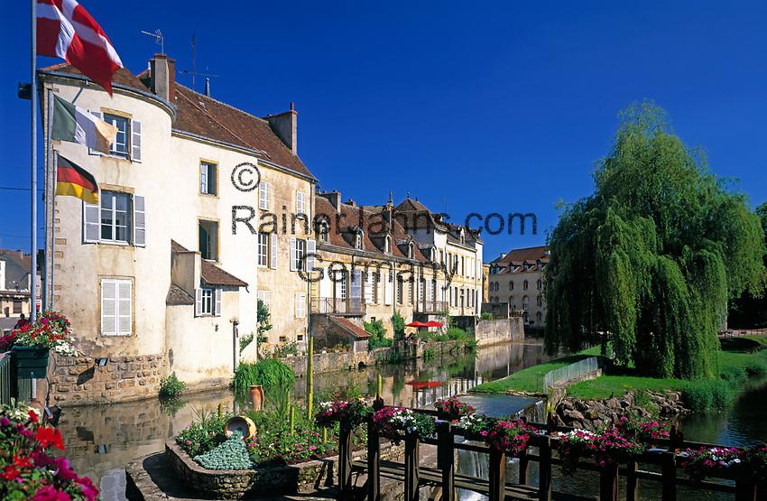 Frankreich, Burgund, Saone & Loire, Charolles: Hauptort des Charolais | France, Burgundy, Saone & Loire, Charolles: main town of the Charolais Region