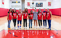 HOUSTON, TX - FEBRUARY 1: The USWNT poses for a photo at Houston Rockets Training Center on February 1, 2020 in Houston, Texas.